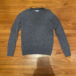 Salt & Pepper Classic Cable Knit Sweater